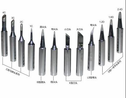 900M and 900L soldering iron tips soldering  tips